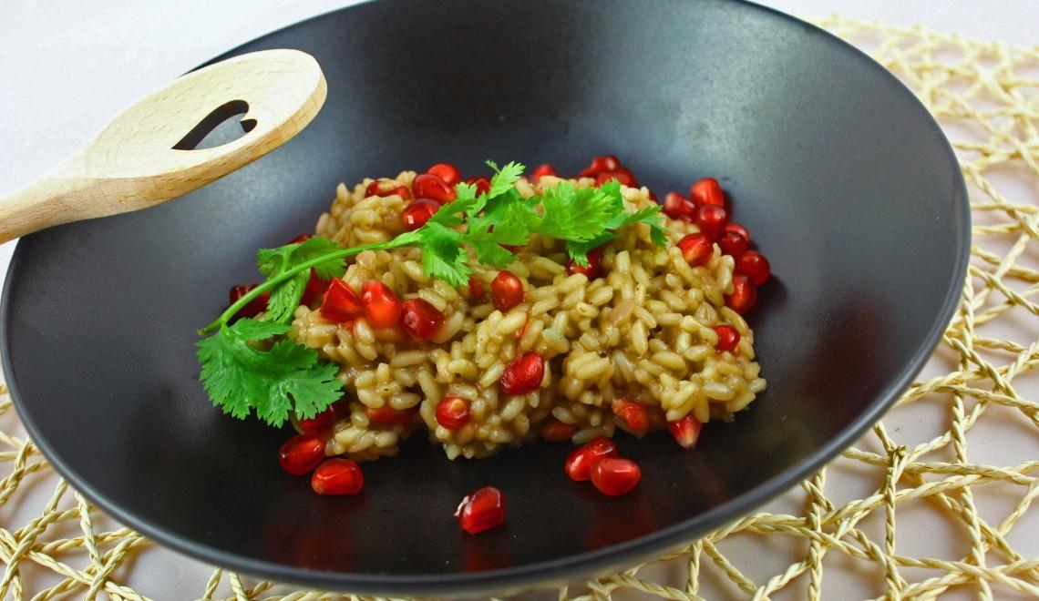 granatapfel risotto