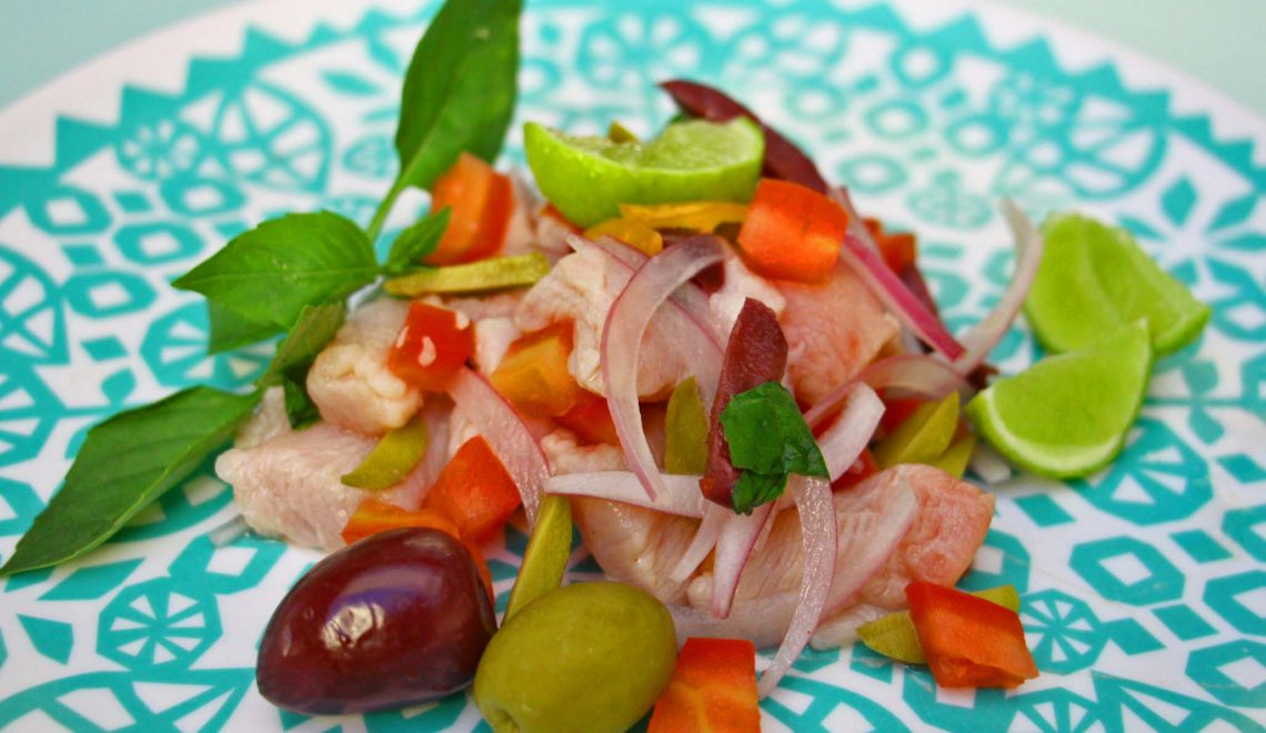 Ceviche all'italiana
